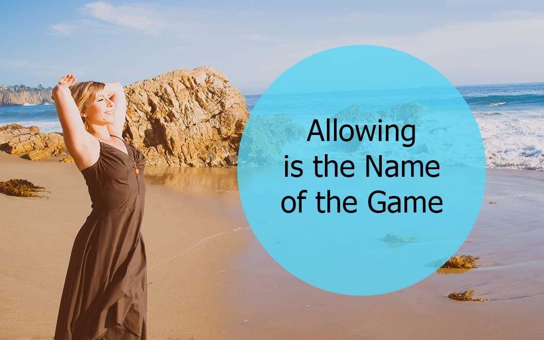 Allowing Is The Name Of The Game (Rampage of Appreciation)